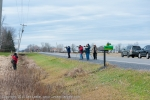 Photographers gatherned for Snow Geese