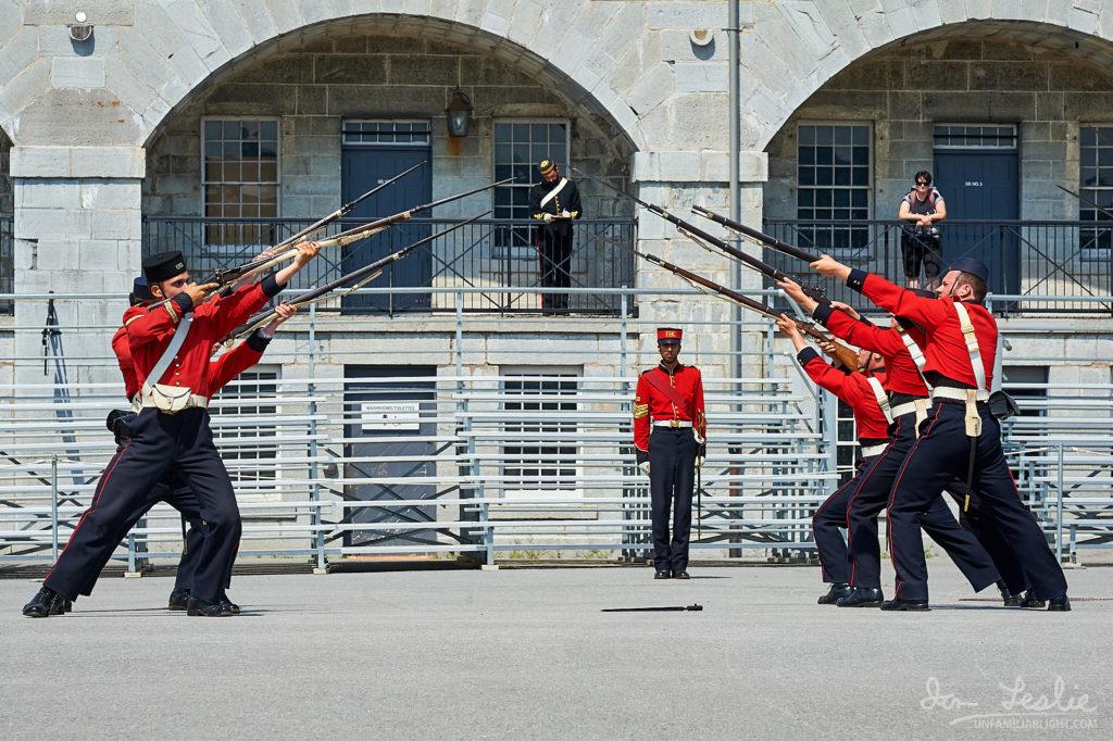 Bayonet drills